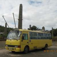 Group Car Hire Ethiopia> hire a Coaster Bus.