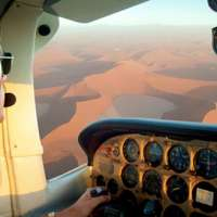 scenic flights and air taxi namibia