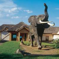 Mweya safari lodge, Queen Elizabeth National Park, Uganda