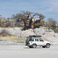 Botswana Self drive 4x4 Hire>Self Drive Safari 4x4 vehicle